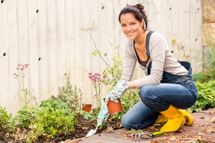 Beete zwischen Straßen und Häusern. Urban Gardening liegt im Trend.